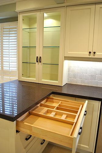 Kitchen Accessories Cutlery Storage In Drawers