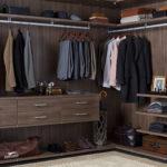 Walk In Closet Brown