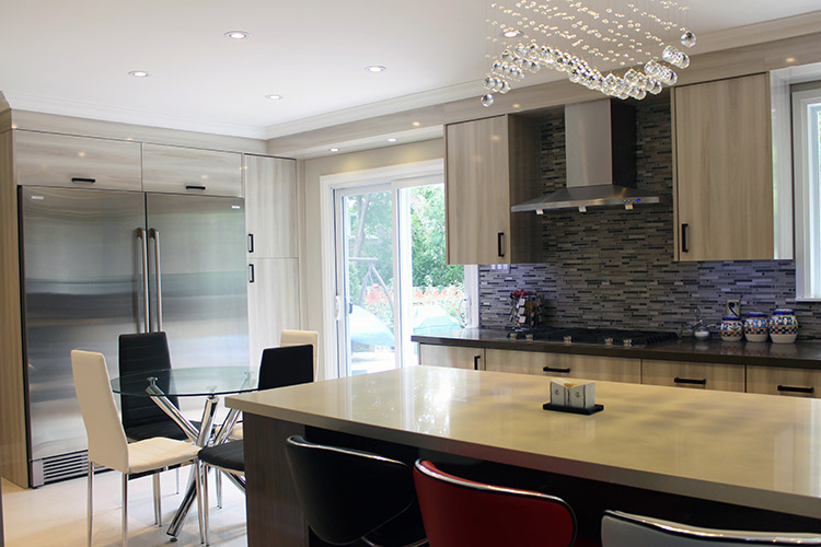 Toronto And Thornhill Custom Modern Kitchen Design