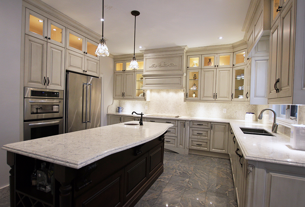 Toronto thornhill custom classic kitchen design for Kitchen designs toronto