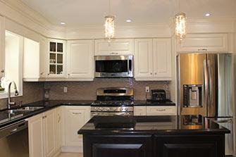 testimonial painted off white kitchen
