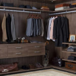 Walk In Closet Brown