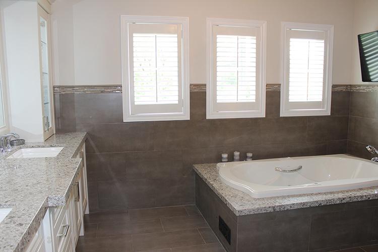 Toronto Thornhill Bathroom Design Renovation Vanity Cabinets