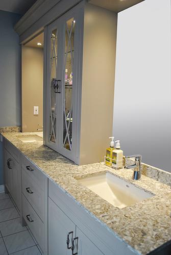 Double Sink Vanity Painted Mdf