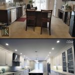 kitchen renovation before after photo b