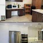 kitchen renovation before after photo c