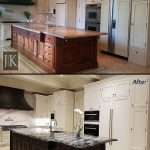 kitchen renovation restoration before after photo