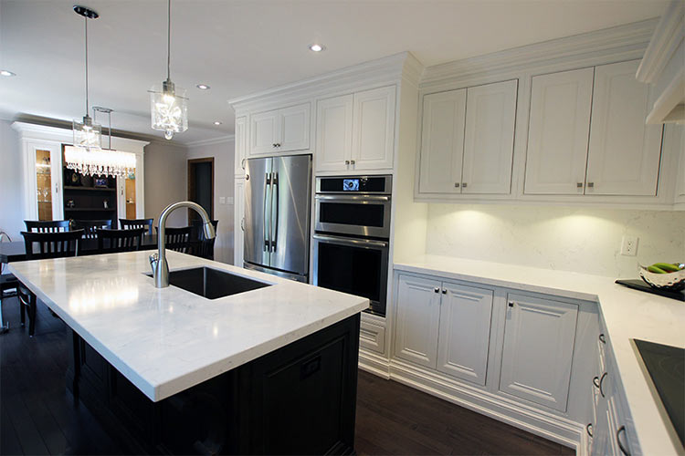 Brilliant Custom Made Solid Wood Kitchen Painted Off White Kitchen Complete Home Design Collection Papxelindsey Bellcom
