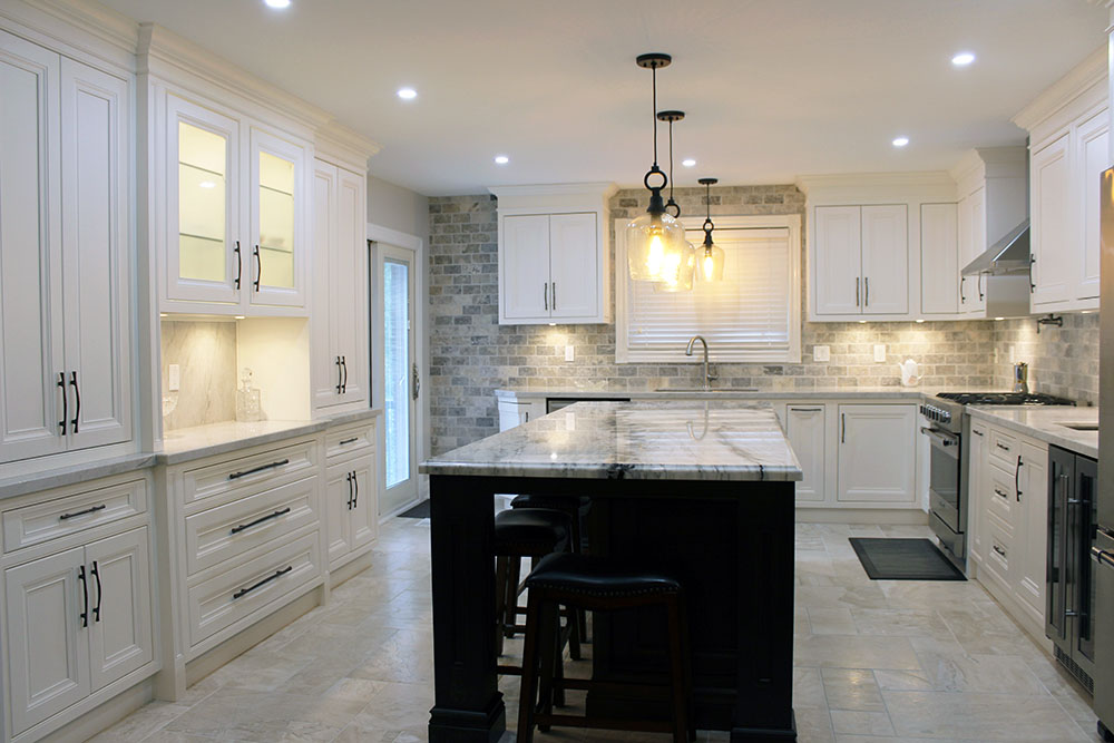 Custom Made Solid Wood Painted Kitchen
