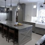 Kitchen renovation. High end custom made double stacked kitchen. Design and built by Joseph Kitchen Markham
