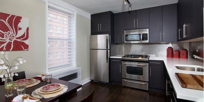 Are Black Cabinets Suitable For Small Kitchens Joseph Kitchen