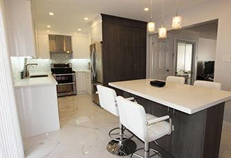 Katherine Cheung White Modern Kitchen