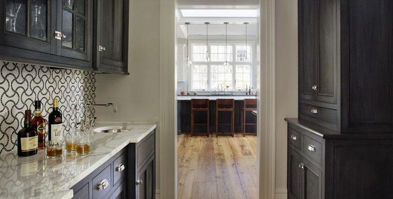 Making Black Cabinets Work For A Small Kitchen Joseph Kitchen Bath