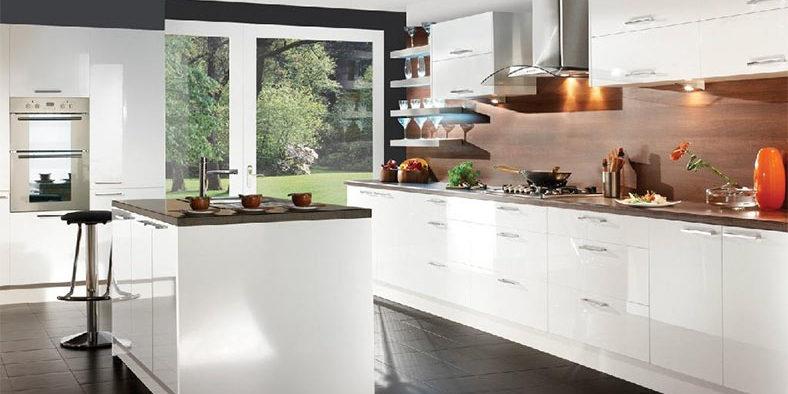 Make Dark Finishes Shine With Plain Prestige Cabinets