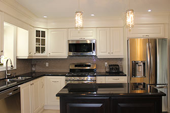 testimonial painted off white kitchen